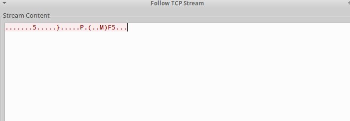 TCP Stream_Encrypted
