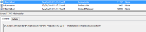 AVG Installation Completed Successfully